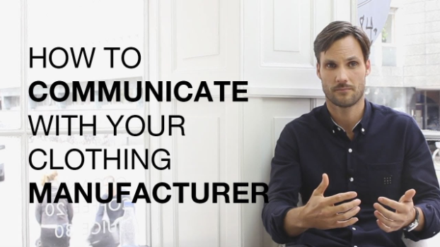 how to talk with clothing manufacturers