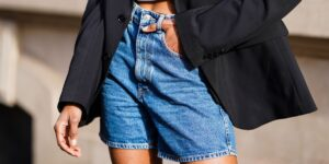 how to cut denim shorts